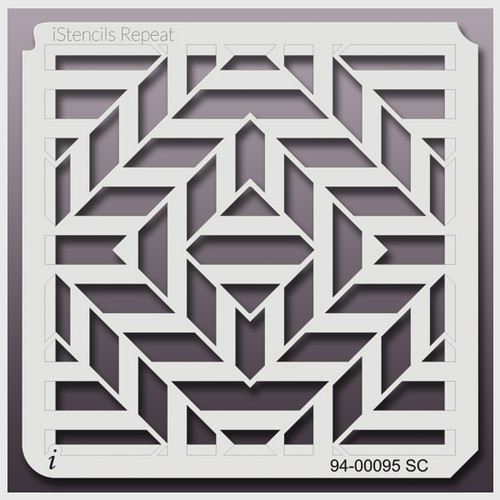 94-00095 RSC square illusion stencil
