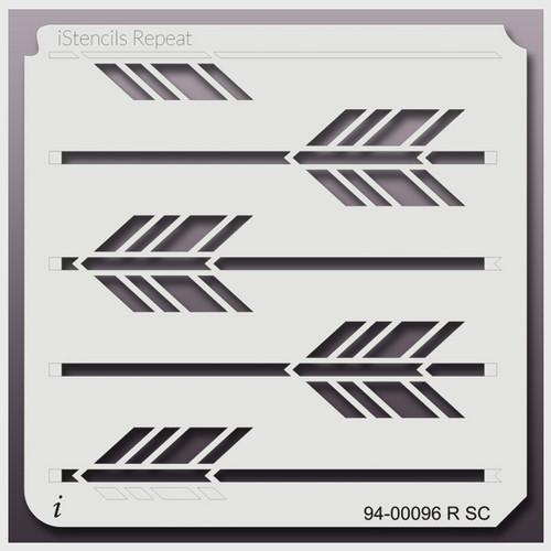 94-00096 RSC boho arrow stencil