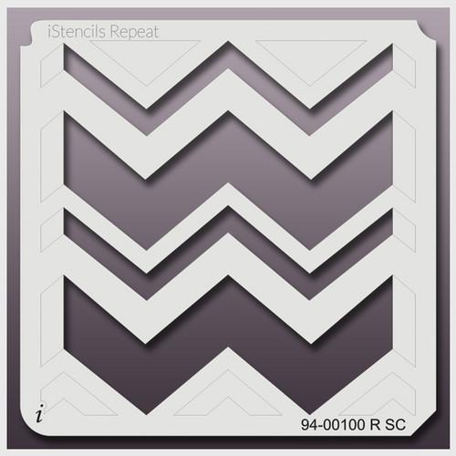 94-00100 RSC funky chevron stencil