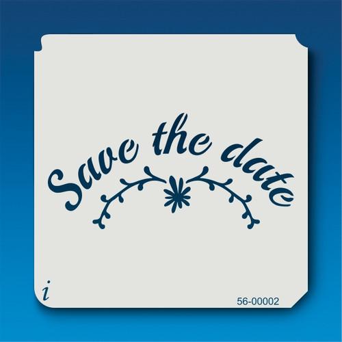 56-00002 Save the Date Stencil