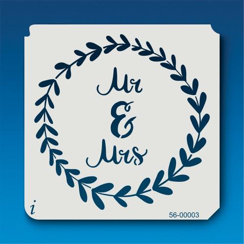 56-00003 Mr and Mrs Stencil