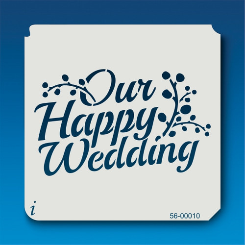 56-00010 Our Wedding Stencil