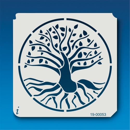 19-00053 Tree of Life Stencil