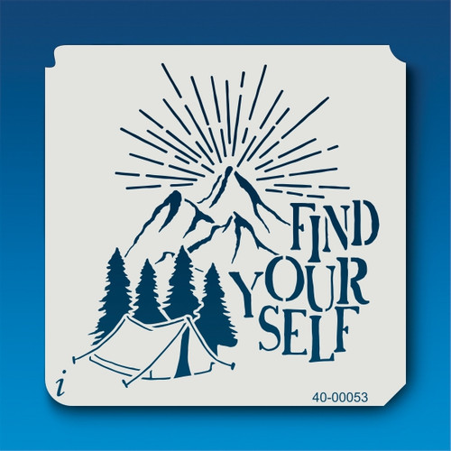 40-00053 Find Yourself Stencil