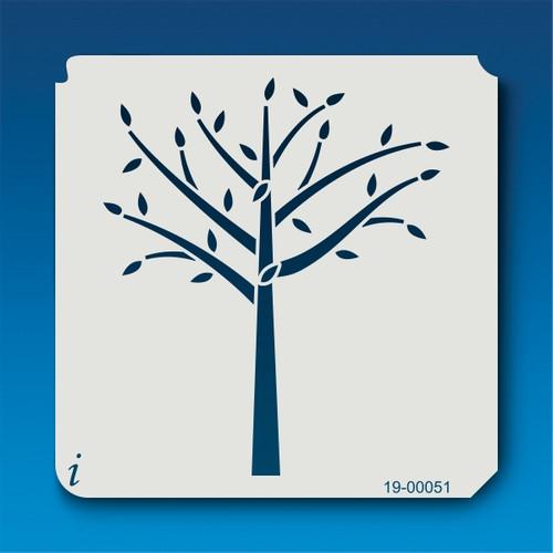 19-00051 Budding Sapling Stencil