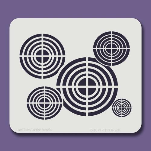 8x10 PTP-153 targets stencil