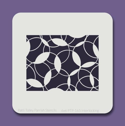 6x6 PTP-165 interlocking stencil
