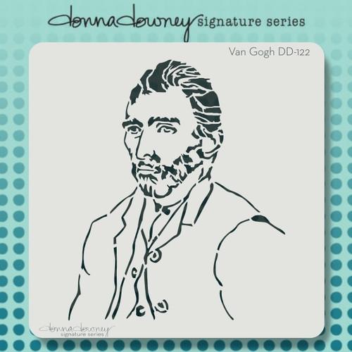 DD-122 Van Gogh stencil