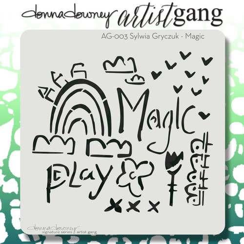 AG-003 magic stencil