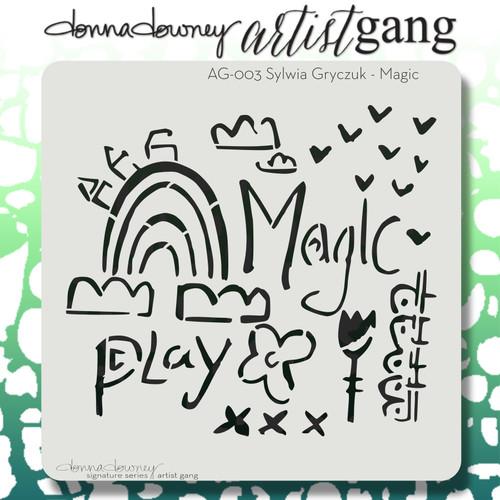 AG-003 magic stencil