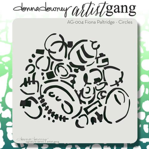 AG-004 circles stencil