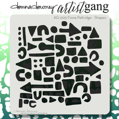 AG-005 shapes stencil