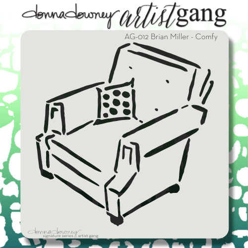 AG-012 comfy stencil