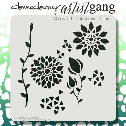 AG-017 garden stencil
