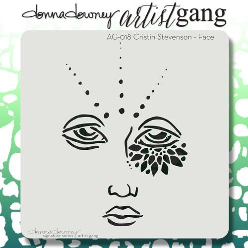 AG-018 face stencil