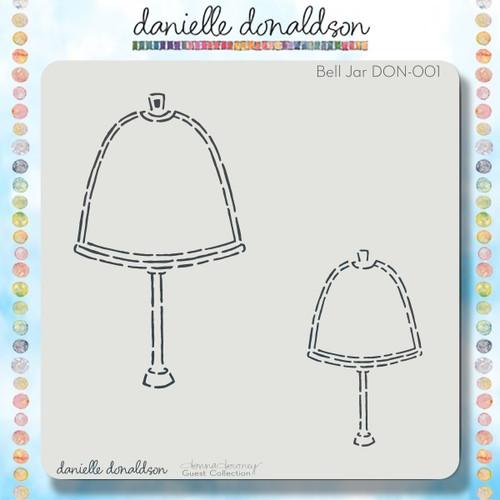 DON-001 bell jar stencil