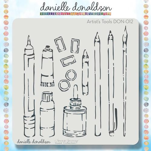 DON-012 artist's tools stencil