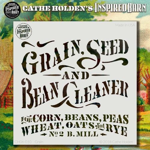 CH-010 grain stencil