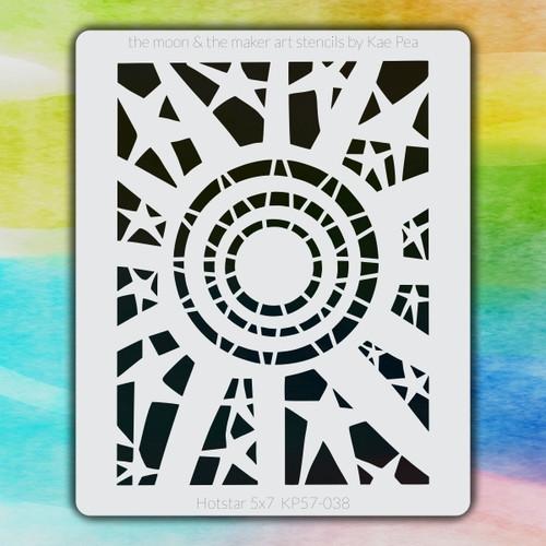 5x7 KP-038 hotstar stencil