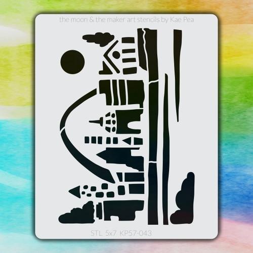 5x7 KP-043 STL stencil