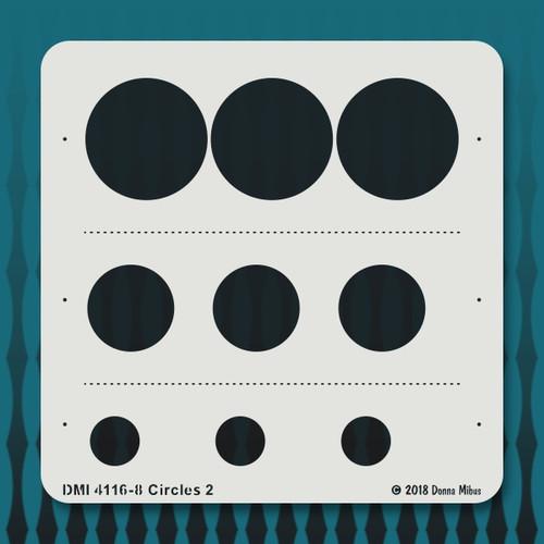 4116 Circles 2 stencil