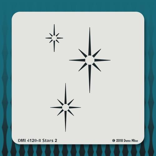 4120 Stars 2 stencil