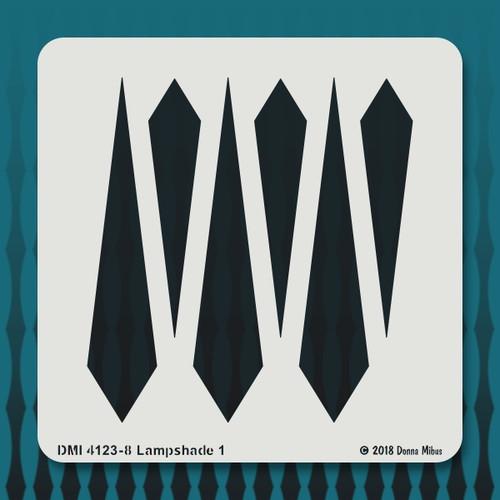 4123 Lampshade stencil
