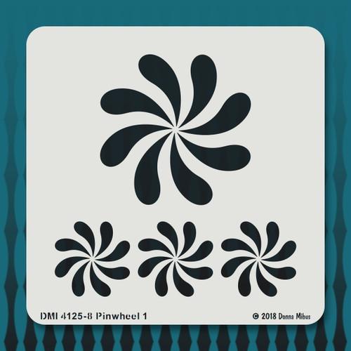 4125 Pinwheel 1 stencil