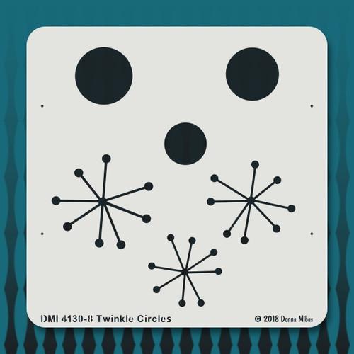 4130 Twinkle Circles stencil