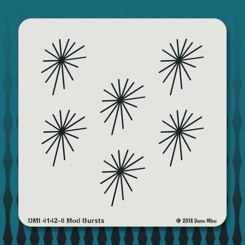 4142 Mod Bursts stencil