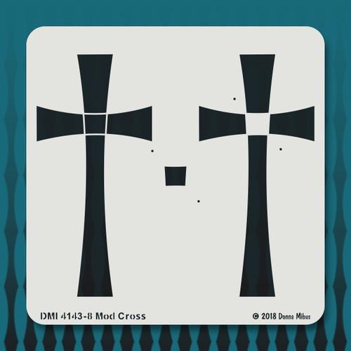 4143 Mod Cross stencil