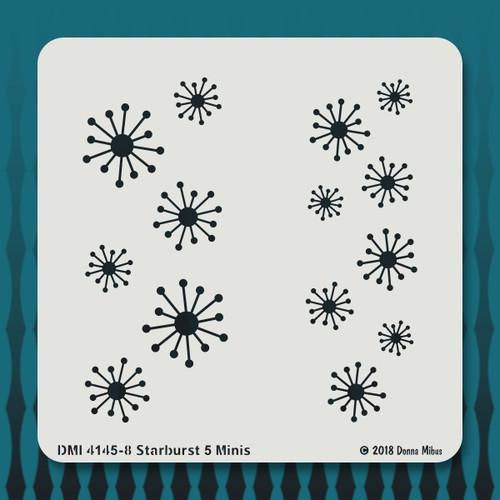 4145 Starburst 5 minis stencil