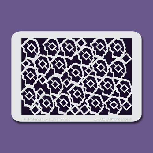 JS-030 diamond excess stencil