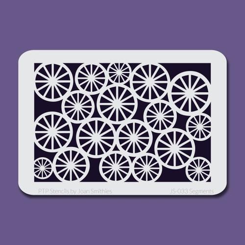 JS-033 segments stencil