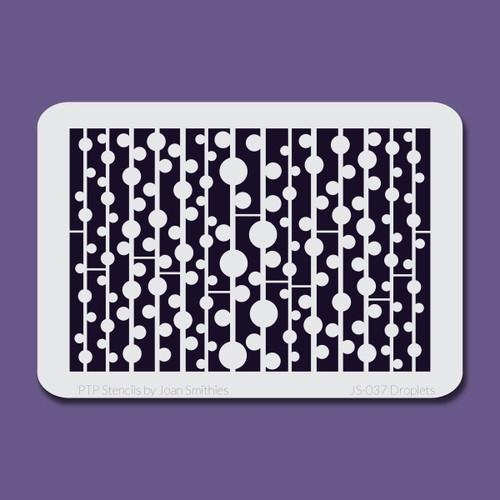 JS-037 droplets stencil