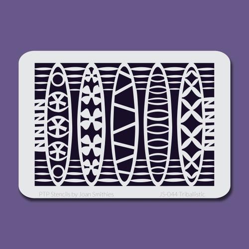 JS-044 tribalistic stencil