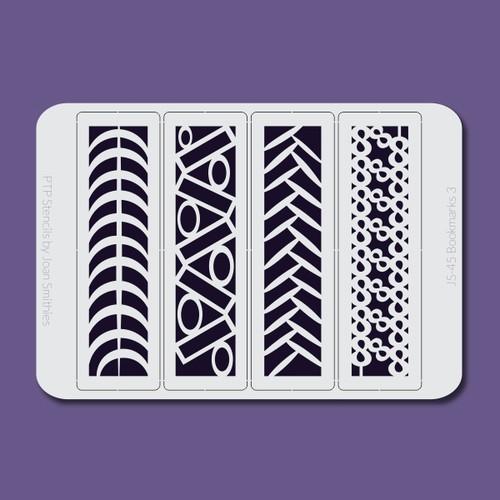 JS-045 bookmarks 3 stencil