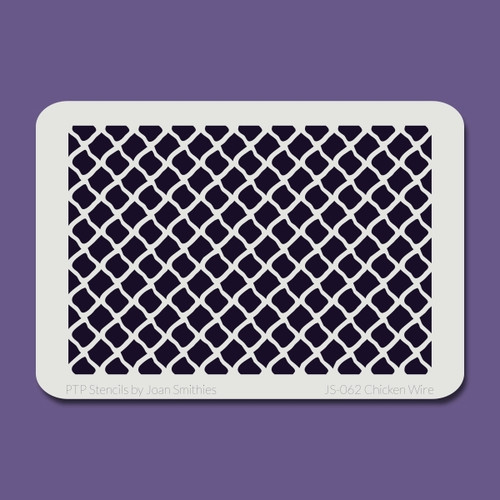 JS-062 chicken wire stencil
