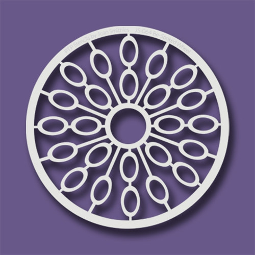 JS-064 be spoked wheel stencil