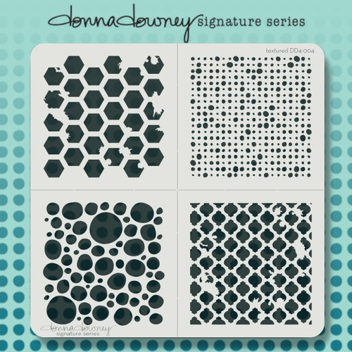 DD4-004 textured 4 pack stencil