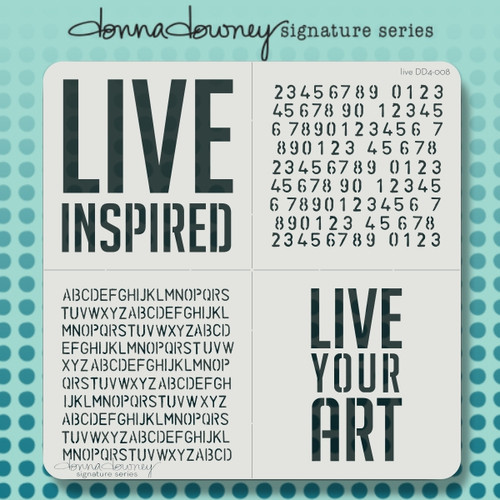 DD4-008 live 4 pack stencil