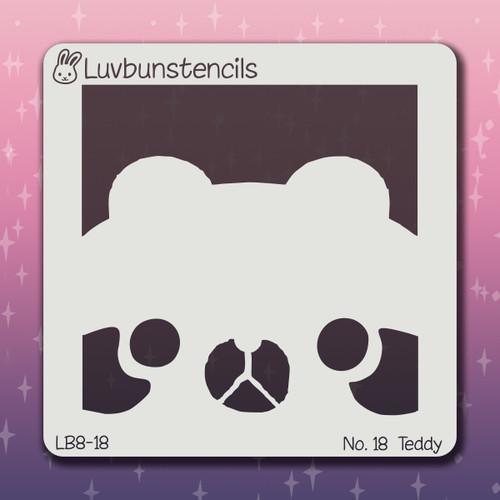 LB-18 teddy stencil