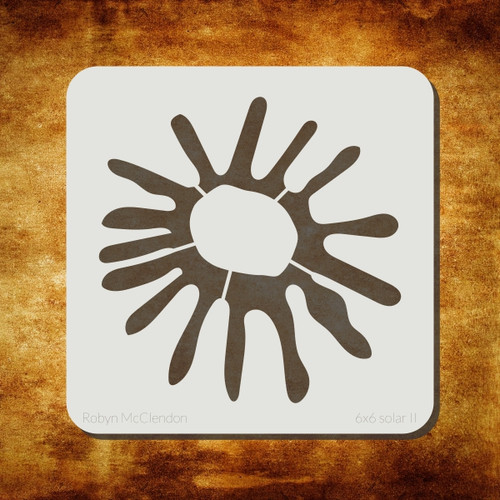 solar II stencil