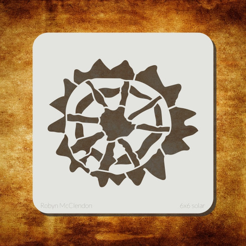 solar stencil