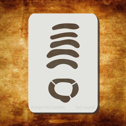 sound stencil