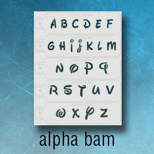 alphbet stencils