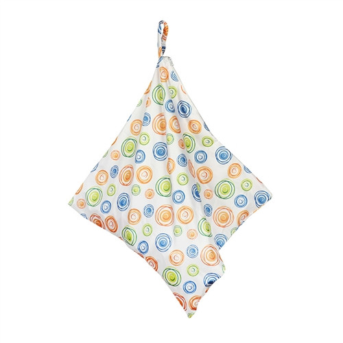 Hanging Laundry Bag - Swirl Print
