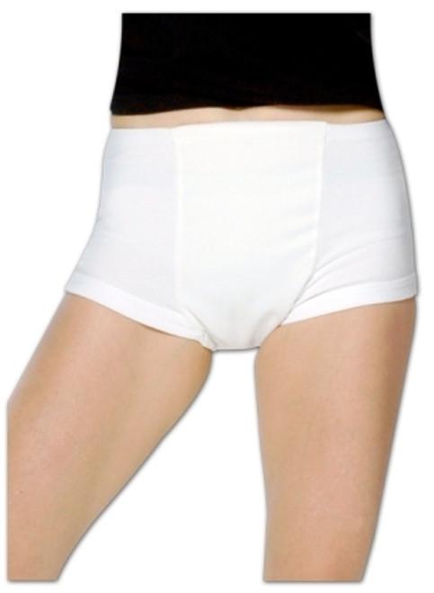 Reusable Incontinence Pants - White