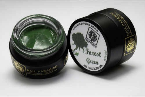 4D Plasticine Gel  Collection 1 - Forest Green