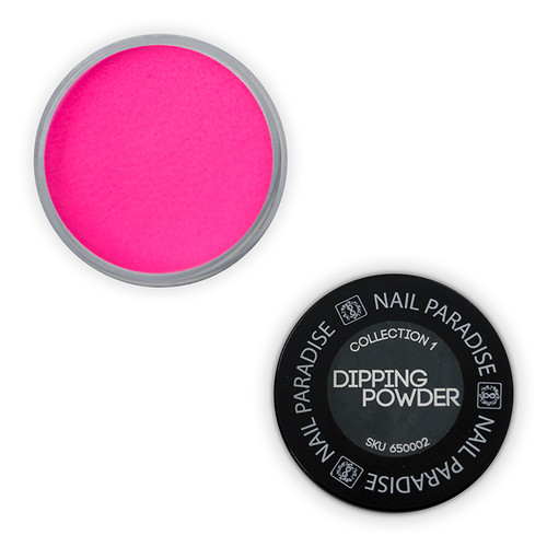 Dipping powder - perfect pour -  Floro Pink -  65OOO2 30gm